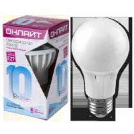 Лампа светодиодная ОНЛАЙТ  10 Вт Е-27