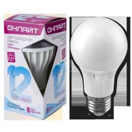 Лампа светодиодная ОНЛАЙТ  12 Вт Е-27