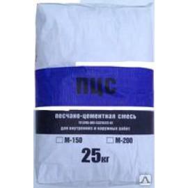 Песчано-цементная смесь ЕВРОНИТ М-150  25 кг