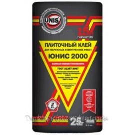 """Клей плиточный """"UNIS 2000"""" 5 кг.(черн.)"""