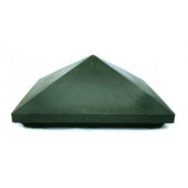 Колпак на кирпичную кладку полимерно-песчанные 385х385 (гладкие)
