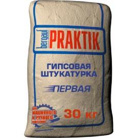Штукатурка гипсовая Бергауф Praktik - 30 кг