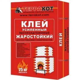 Терракот клей усиленный жаростойкий  25 кг.